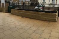 Whitehorse Manor Primary Public Space Planters