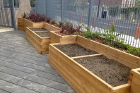 Priory S.E.N School Planters